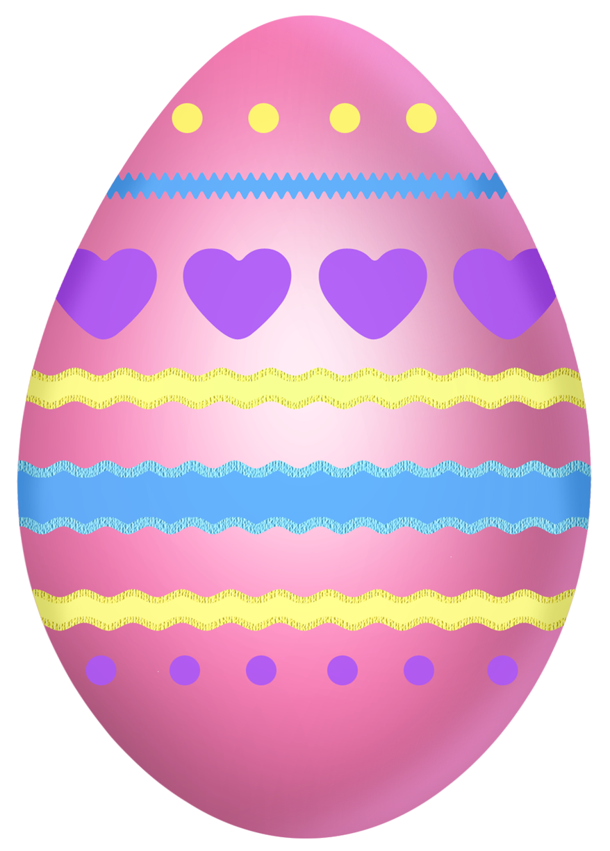 Easter egg easter pink egg