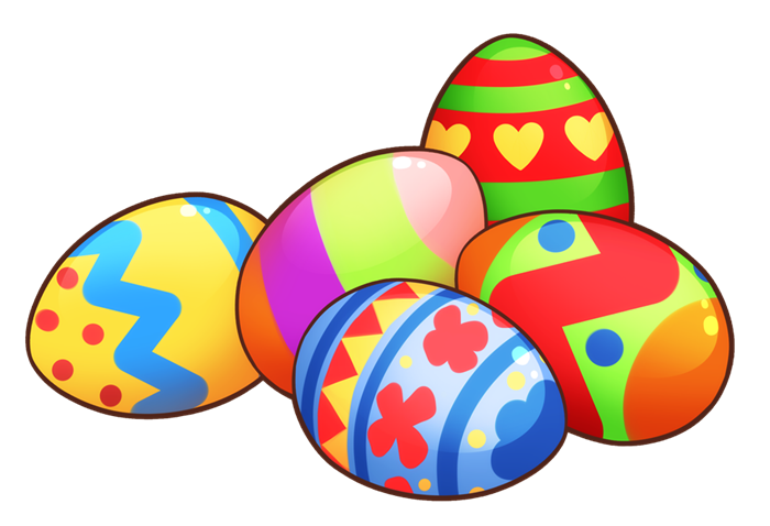 Easter Is Just Around The Corner. You Ca-Easter is just around the corner. You can use this colorful Easter eggs clip art on whatever project of yours that requires an image of Easter eggs.-9