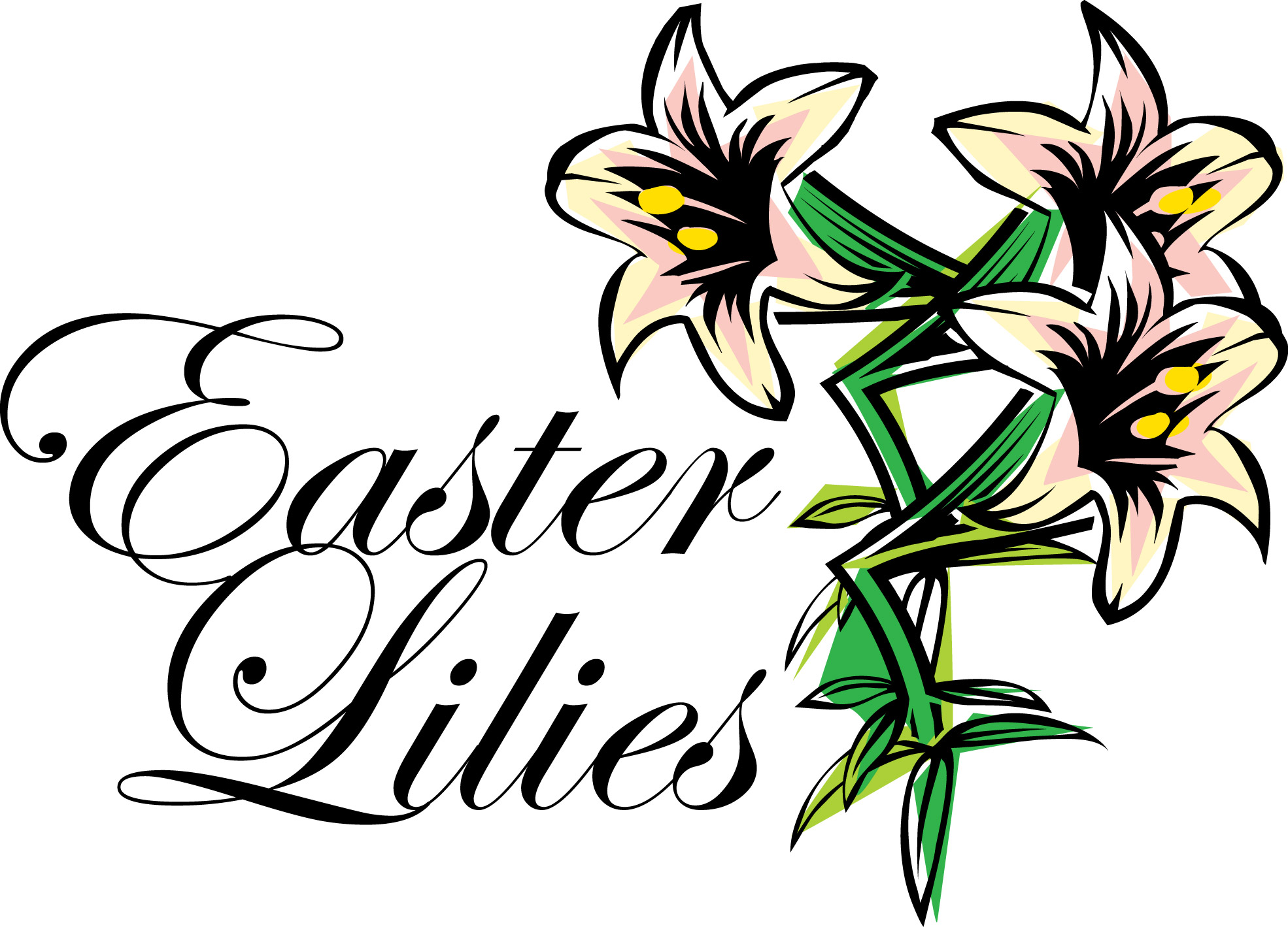Easter Lily Clip Art Cliparts Co