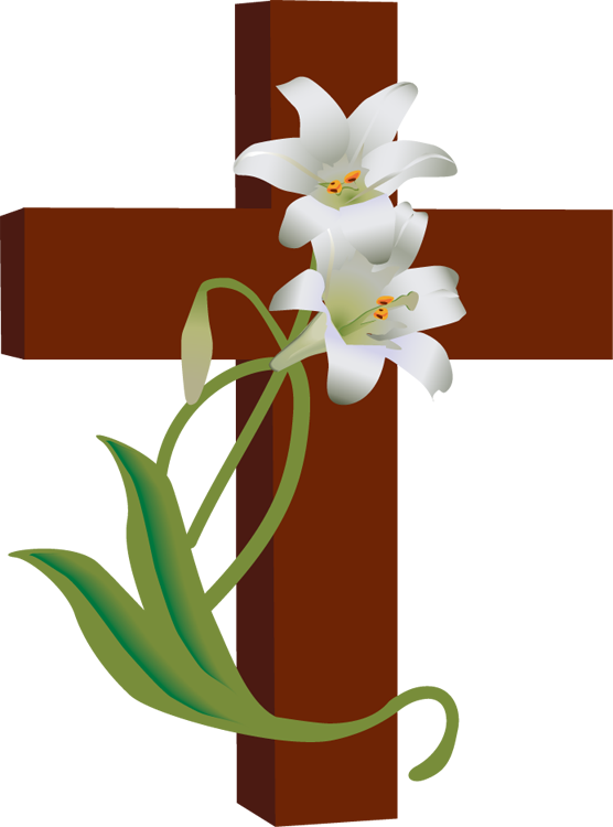 Easter Lily Clipart; Easter .