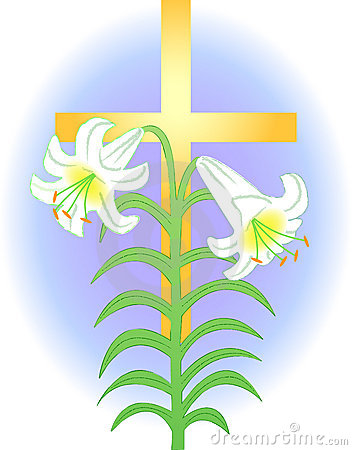 Easter Lily Clipart Free . Illustration -Easter Lily Clipart Free . Illustration Of An Easter Lily .-3