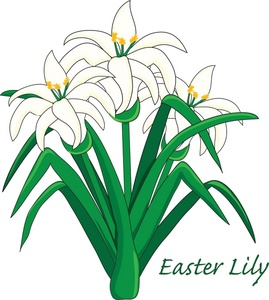 Easter Lily Clipart Image Easter Lily-Easter Lily Clipart Image Easter Lily-7