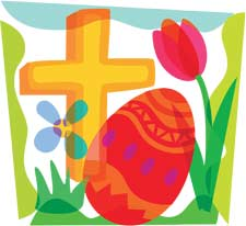 Easter sunday christian . - Religious Easter Clip Art