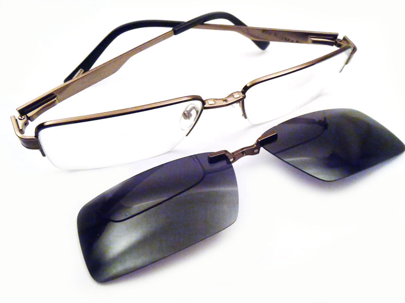 Easyclip Eyeglasses With Clip Off-Easyclip eyeglasses with clip off-3