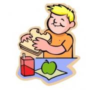 eating lunch clipart - Children Eating Clipart