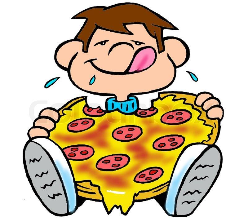 Eating Pizza Clipart-Eating Pizza Clipart-12