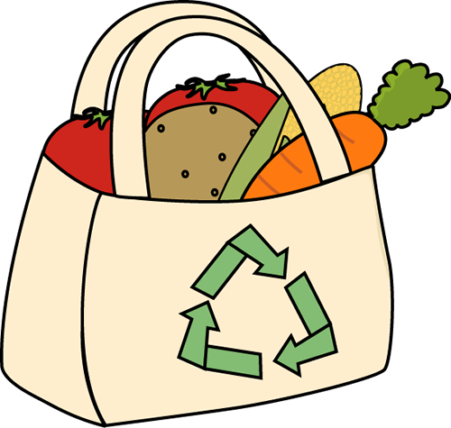 Eco Friendly Grocery Bag Clip Art Eco Friendly Grocery Bag Image