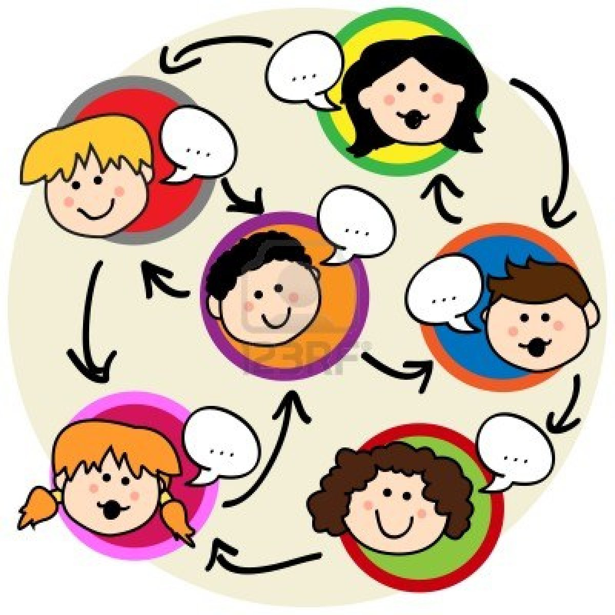 Ed News A Step By Step Guide  - Kids Talking Clipart