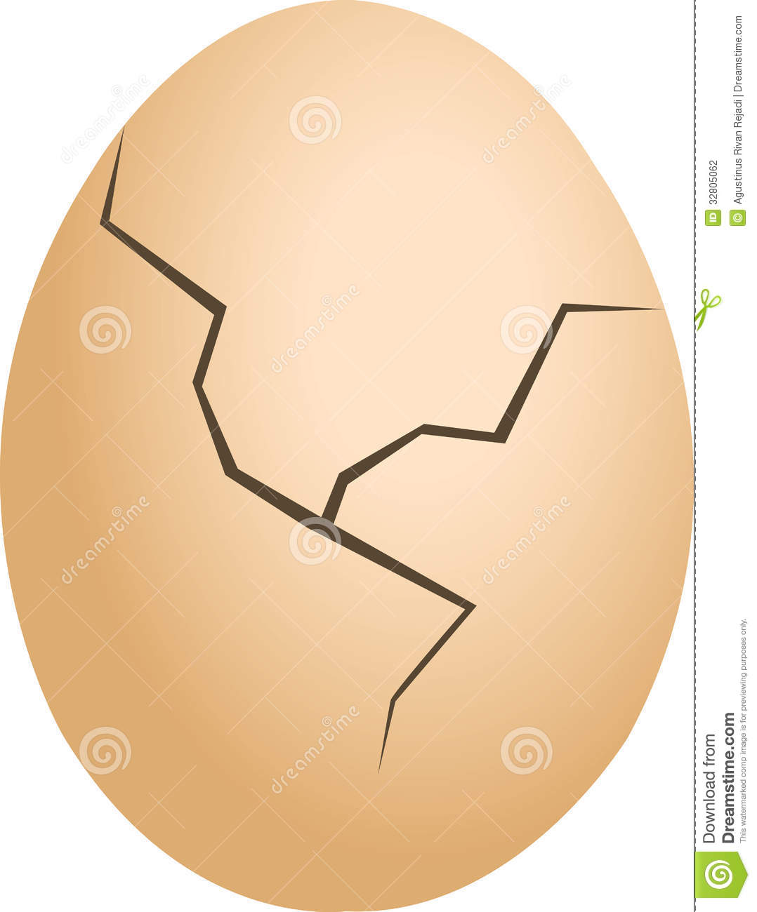 Egg Cracked