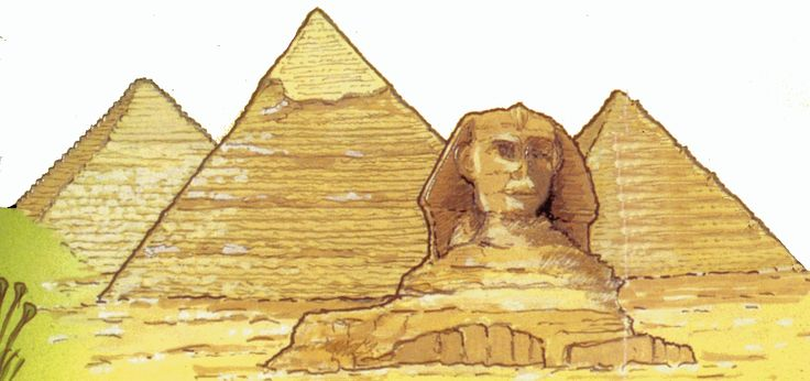 Egyptian Pyramid Clip Art. Learn to draw, To draw and .