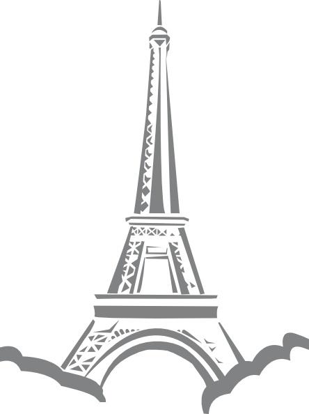 Eiffel Tower Paris Clip Art-Eiffel Tower Paris clip art-9