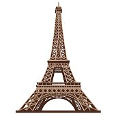 Eiffel Tower, Paris · The Eiffel Tower -Eiffel Tower, Paris · The Eiffel Tower shot from below against a white  background-10
