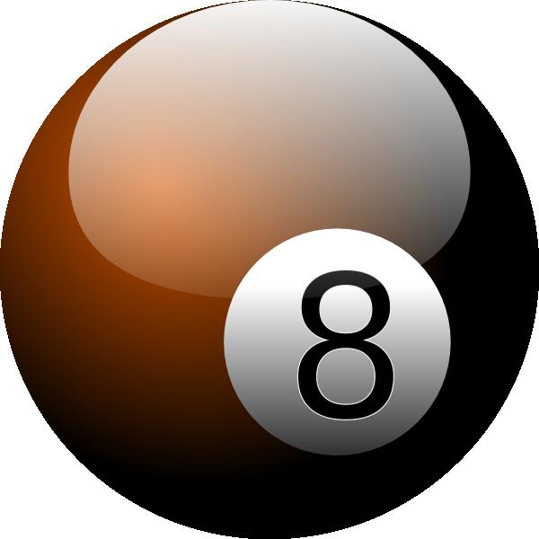 Eight Ball Clip Art