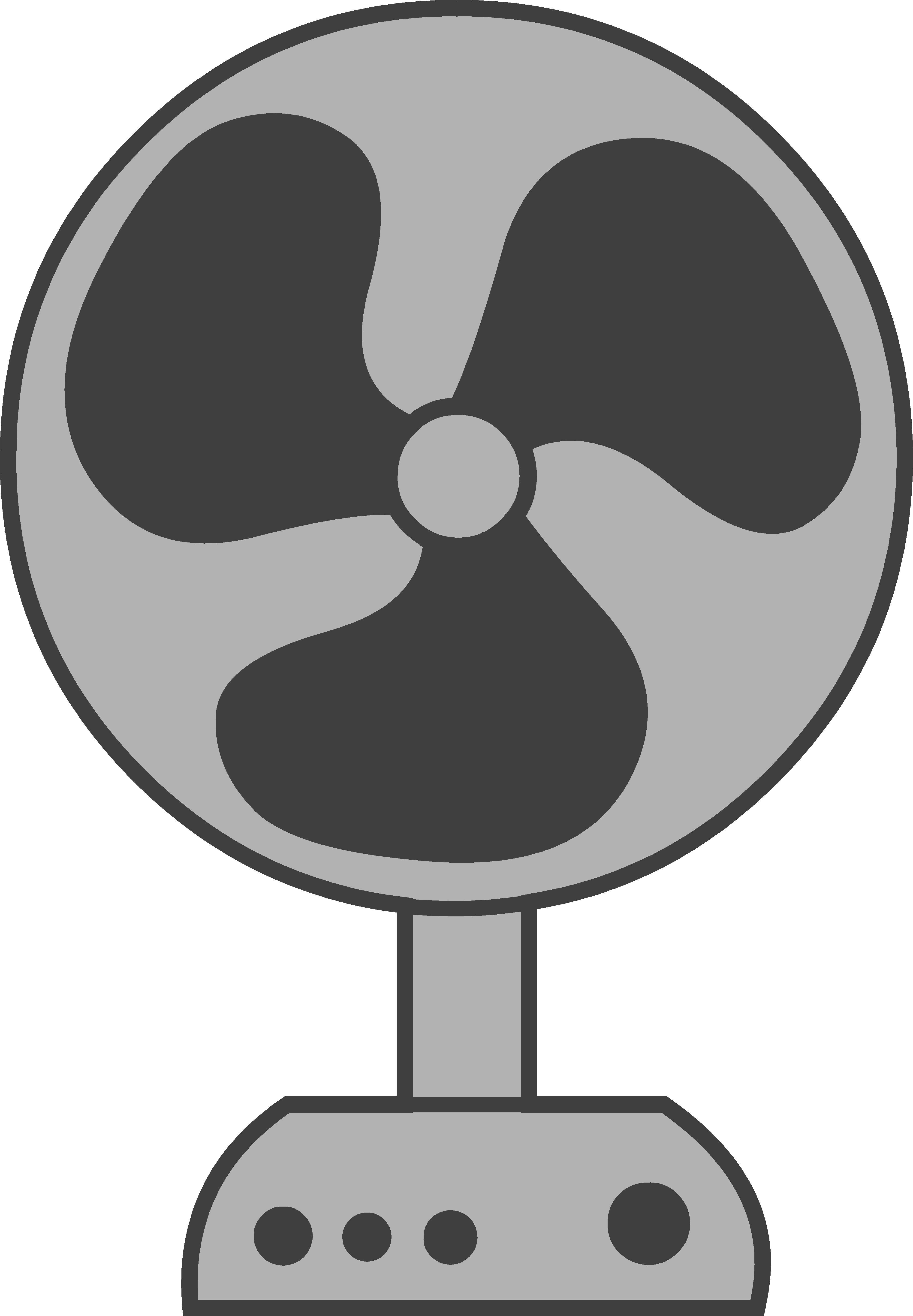 Electric Fan Logo Clipart