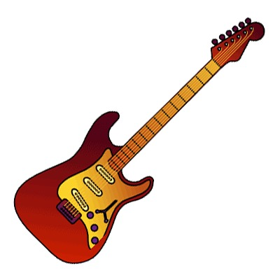 Electric Guitar Clipart-Electric Guitar Clipart-3