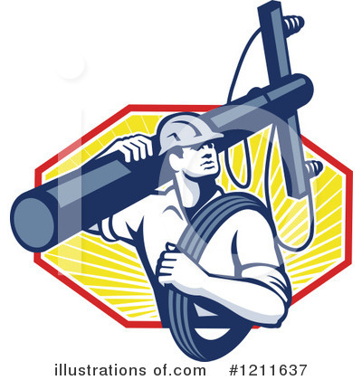 Electric Power Lineman Clipart Free Clip Art Images