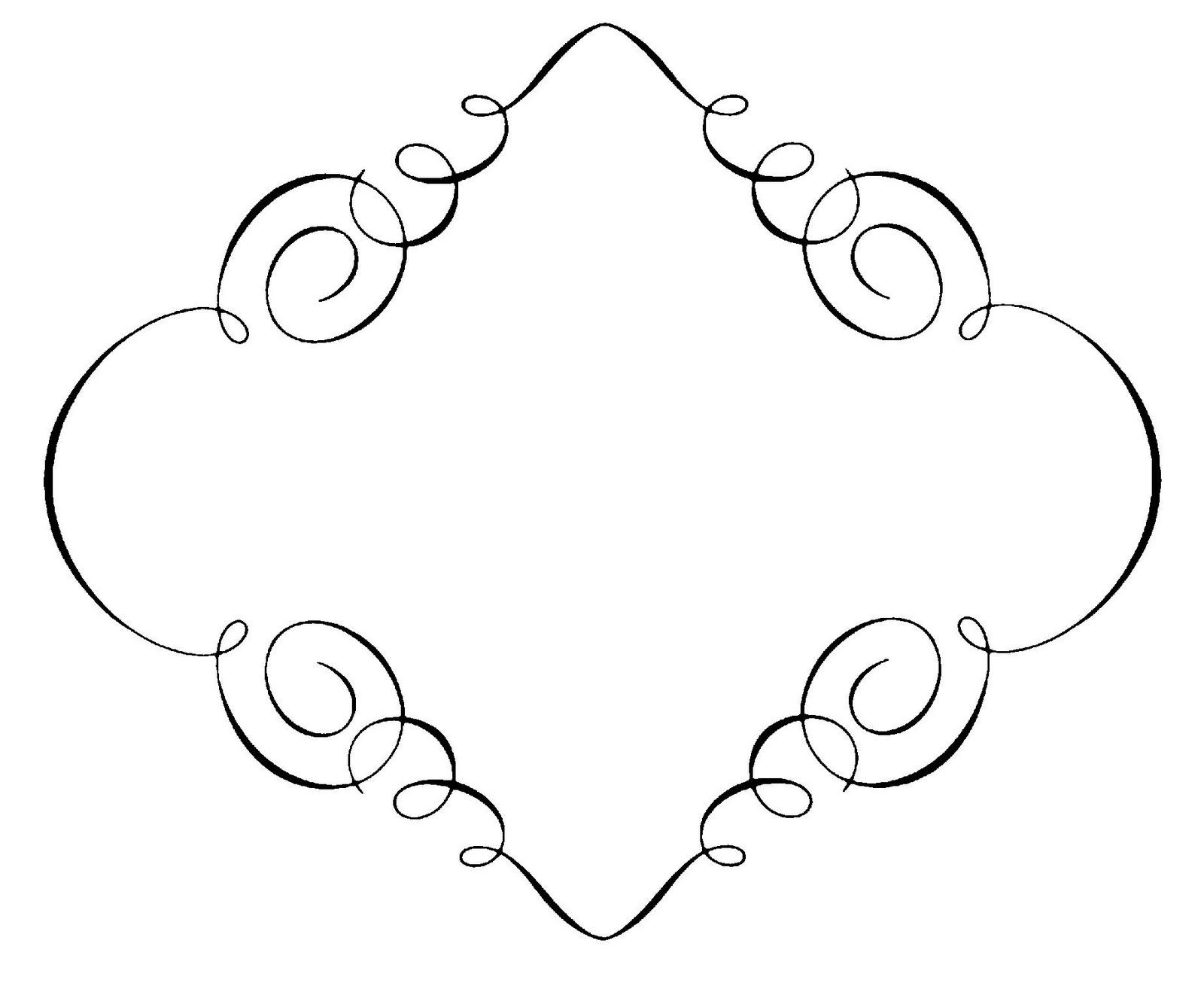 elegant border frame