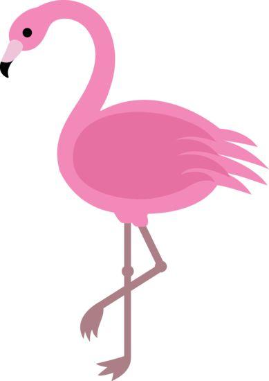Elegant Pink Flamingo Clip Art More