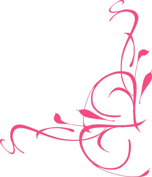 Elegant Swirl Designs Clip Art Right Flo-Elegant swirl designs clip art right floral swirl clip art-2