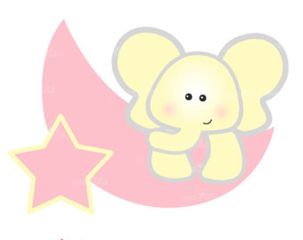 elephant clipart baby shower-elephant clipart baby shower-15