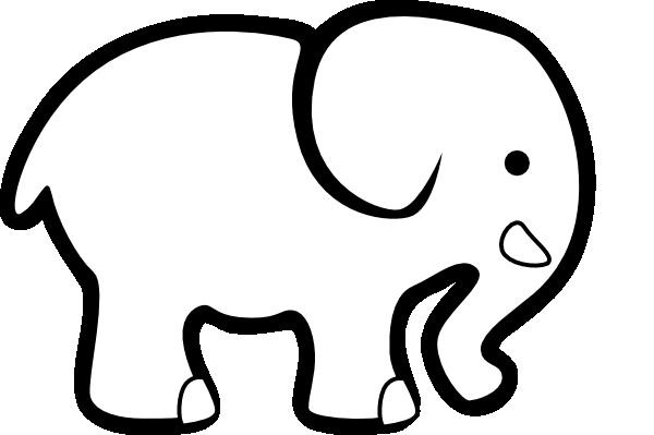 elephant clipart black% .