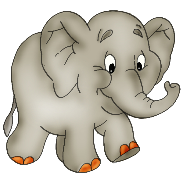 Elephant Cartoon Clip Art: Baby Elephant-Elephant Cartoon Clip Art: Baby Elephant Cartoon Pictures-9