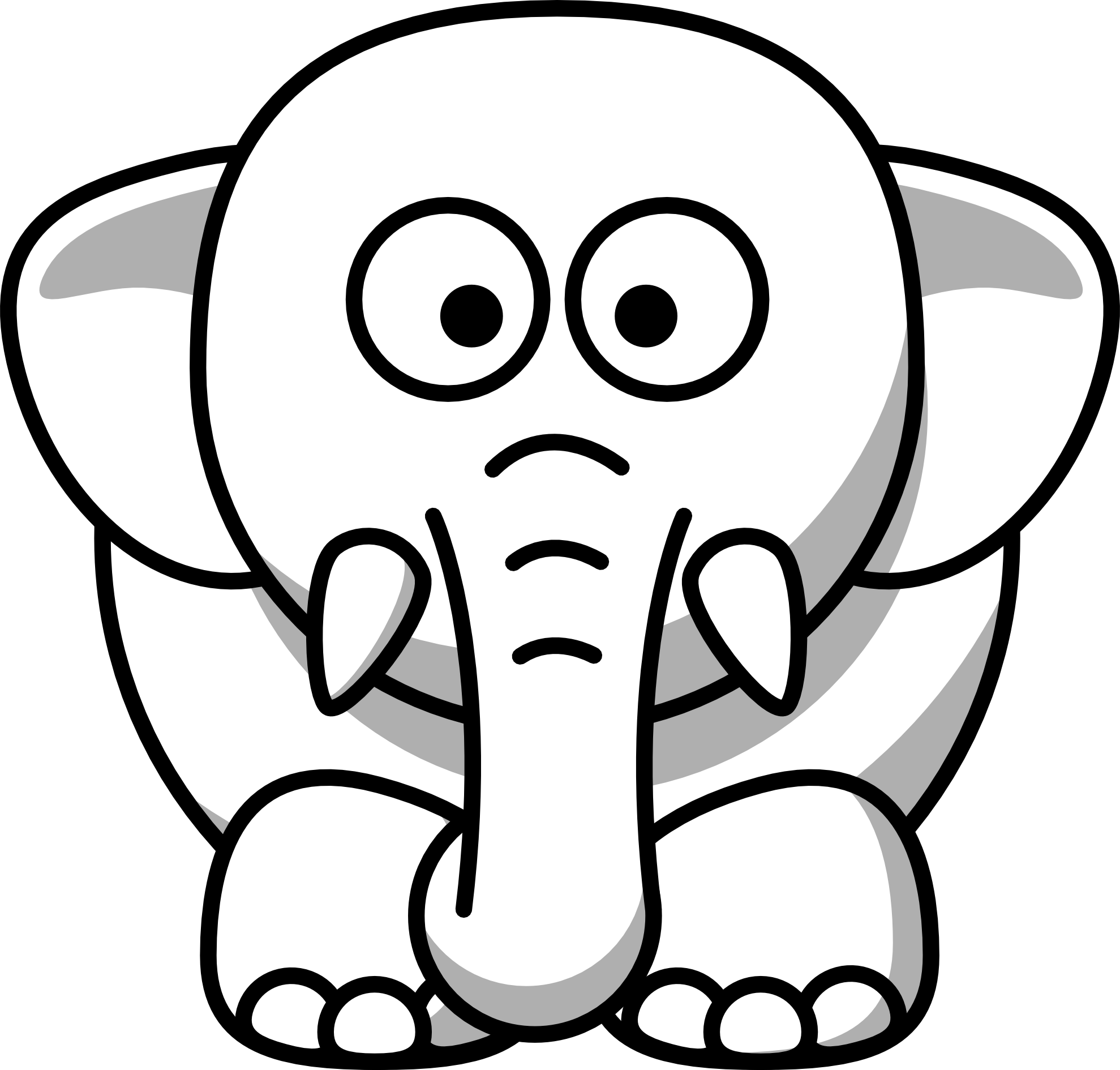 Elephant Clip Art Birthday | Clipart library - Free Clipart Images