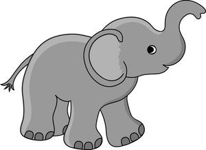 Elephant Clip Art-Elephant Clip Art-8