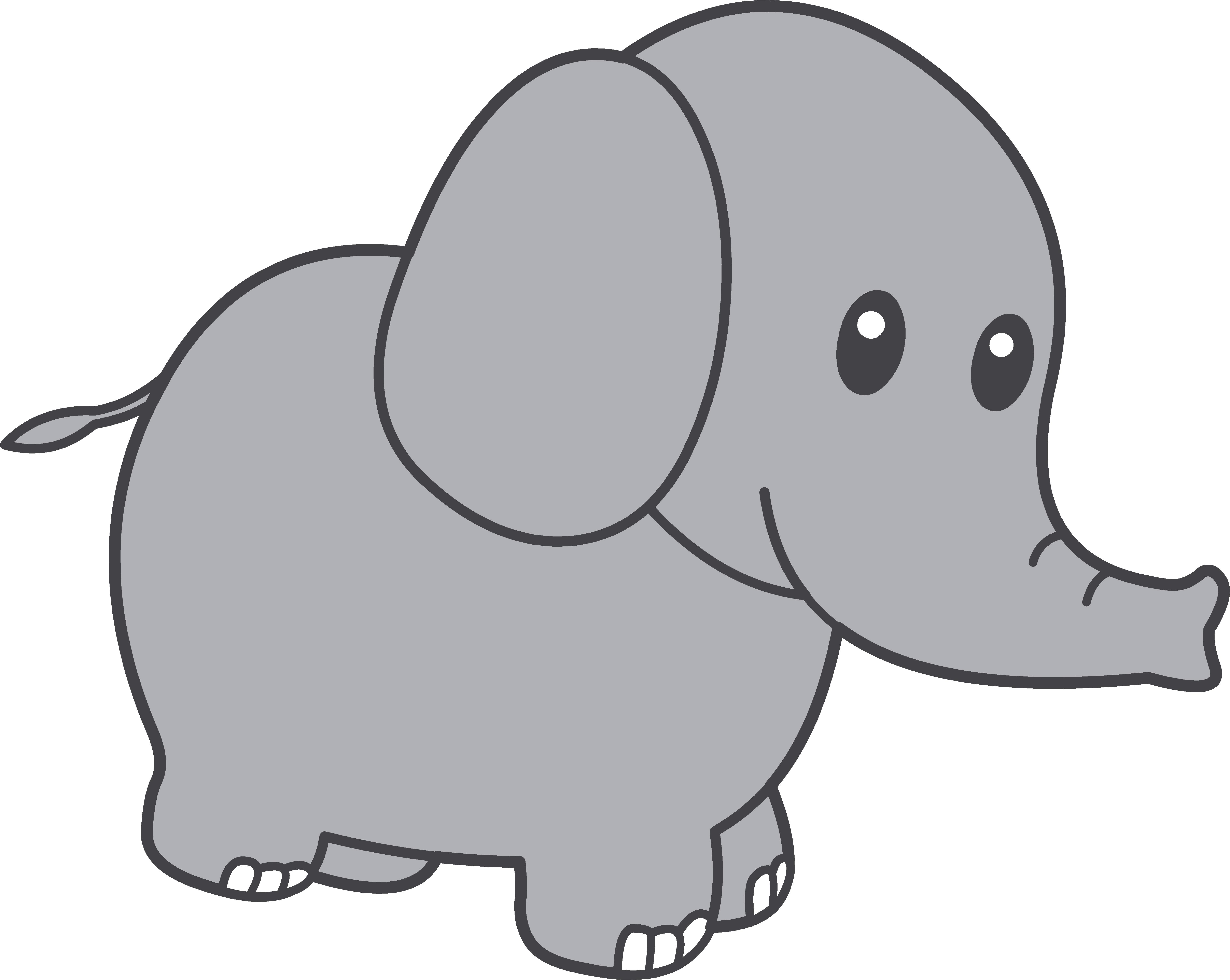 Elephant Clip Art-Elephant Clip Art-9