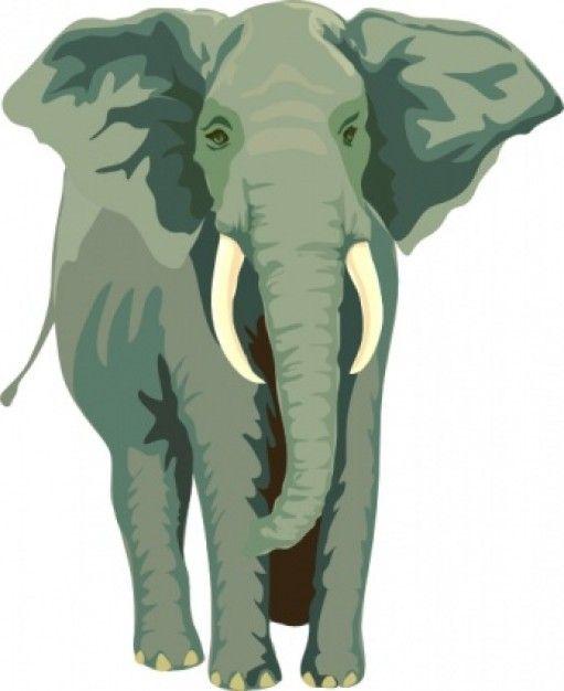 Elephant Clip Art   Elephant Clip Art   -Elephant Clip Art   Elephant clip art   Download free Vector-11