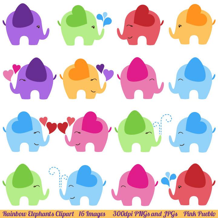 elephant clip art on Etsy .