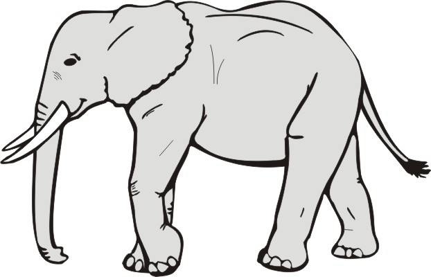 Elephant Clipart Black And White Clipart-Elephant Clipart Black And White Clipart Panda Free Clipart Images-11