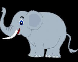 Happy Elephant Clipart #1-Happy Elephant Clipart #1-14