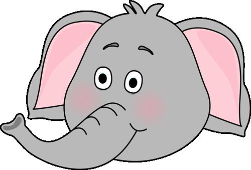 Elephant Face Clip Art ..