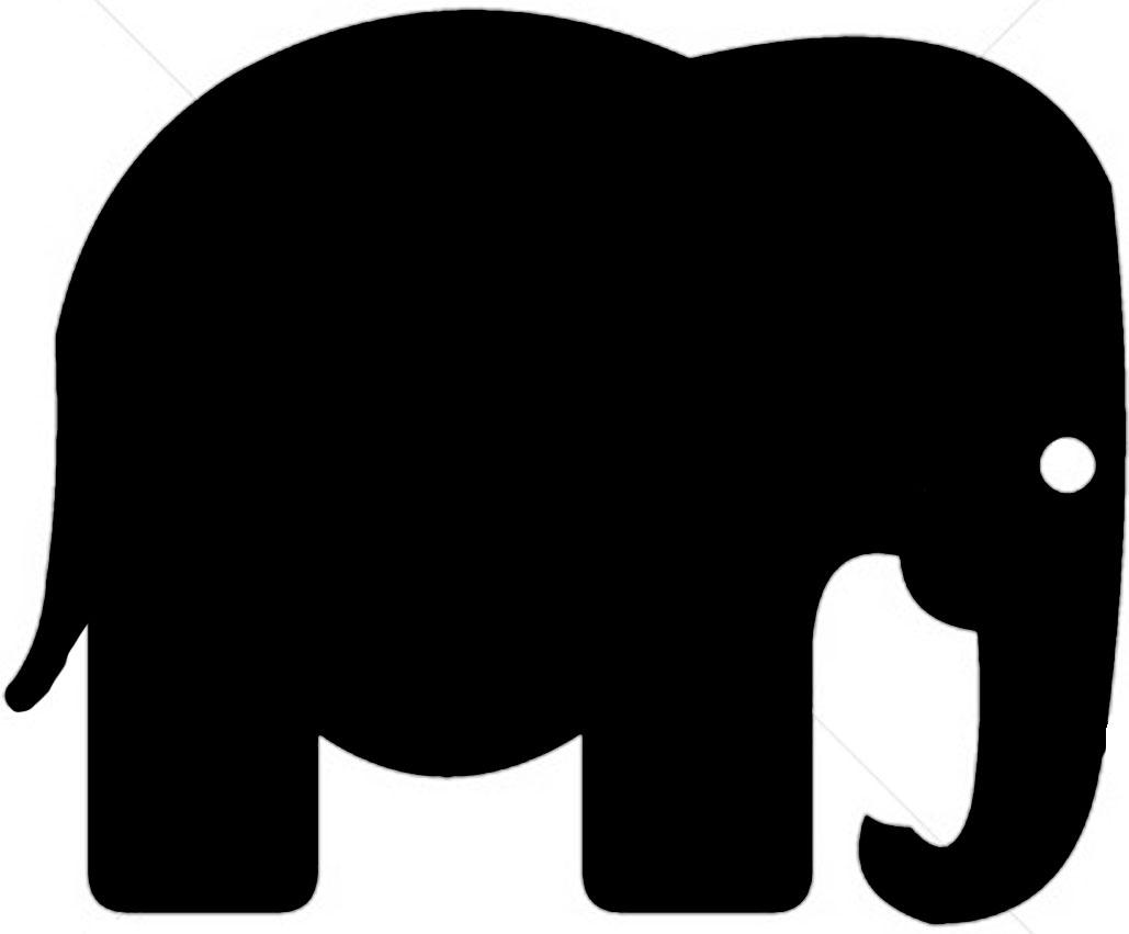 Elephant Silhouette Clip Art Clipart Panda Free Clipart Images