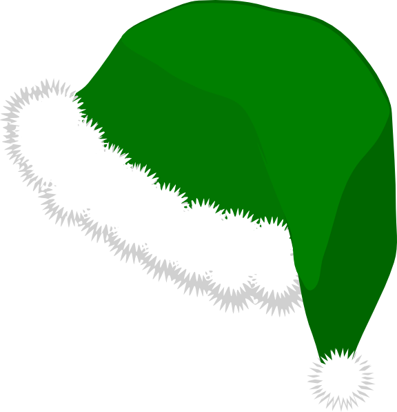 Elf Hat Clip Art At Clker Com - Elf Hat Clipart
