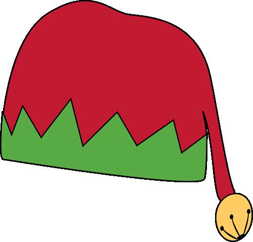 Elf Hat Clip Art Coloring Pages