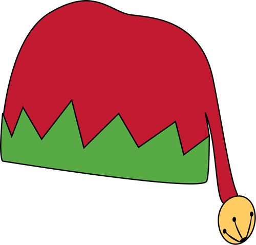 Elf Hat Clip Art Coloring Pages