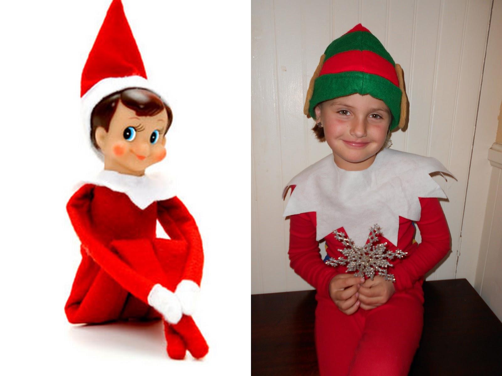 Elf In Pajamas Clipart #1