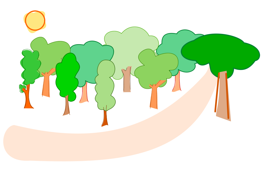 Elf In The Forest Clipart Vector Clip Ar-Elf In The Forest Clipart Vector Clip Art Online Royalty Free-3