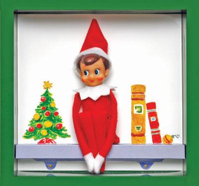 Elf On Shelf Clipart-Elf On Shelf Clipart-6