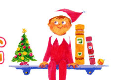 Elf On the Shelf Clip Art