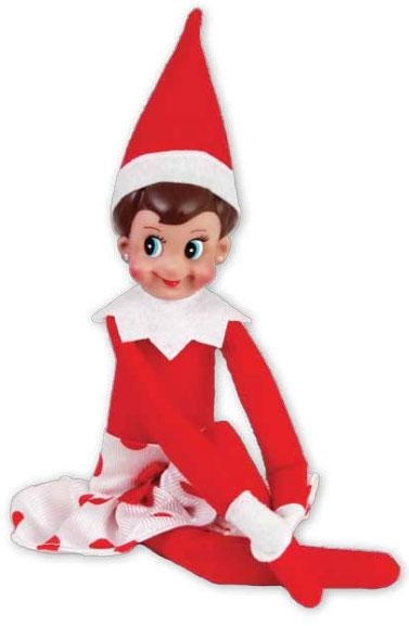 Elf On The Shelf Clipart Free .