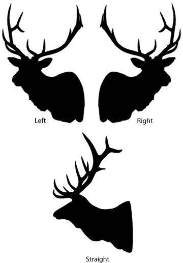 Elk Head Silhouette | Similar Galleries: Elk Clip Art , Elk Head Silhouette Clip Art