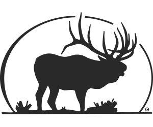 Elk Silhouette Decal-Elk Silhouette Decal-15
