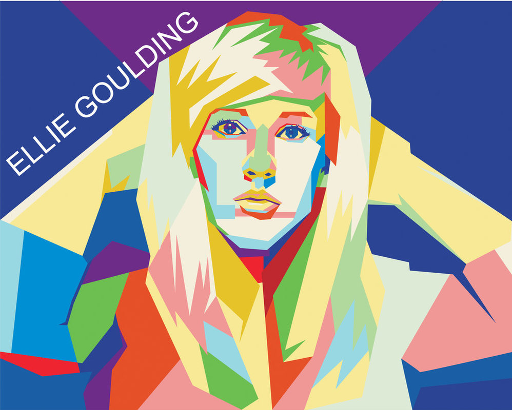 ellie Goulding in wpap style by me by doepicshitt ClipartLook.com