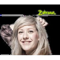 Ellie Goulding Transparent PNG Image
