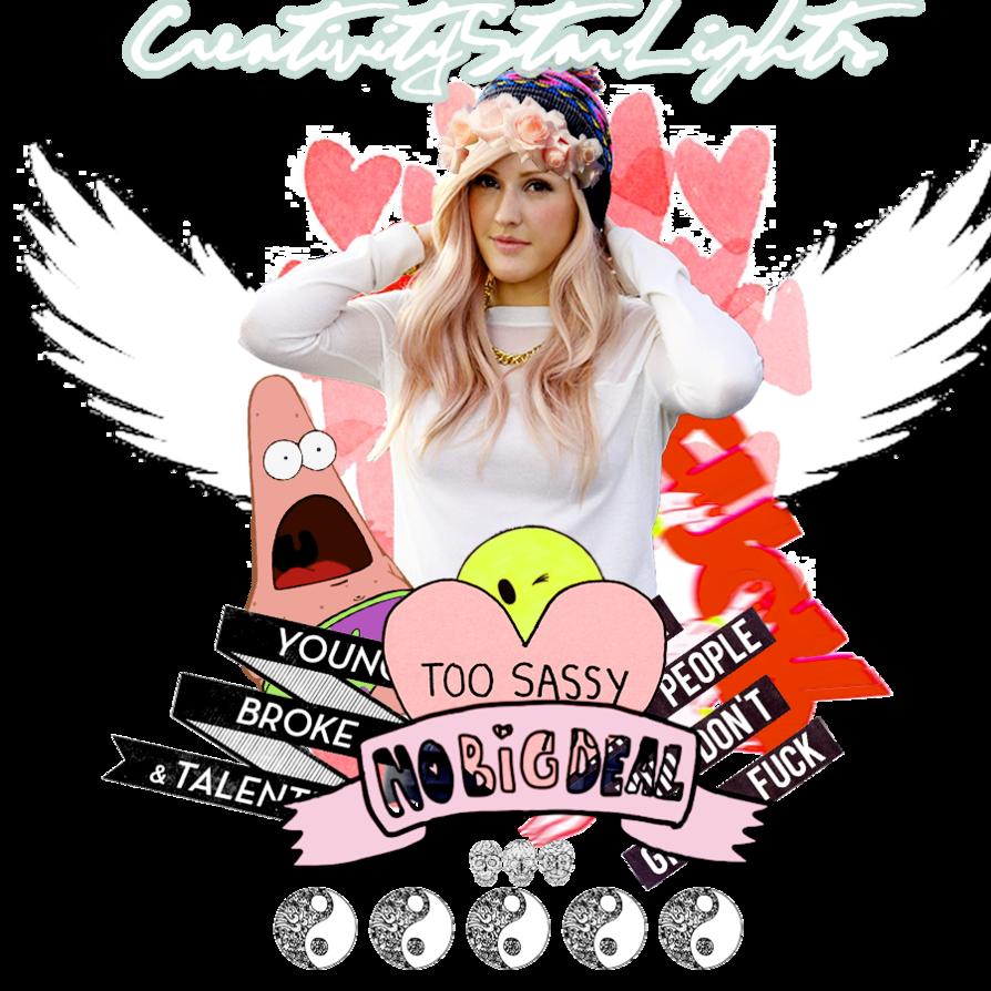 ID Ellie Goulding Tumblr by CreativityStarLights ClipartLook.com