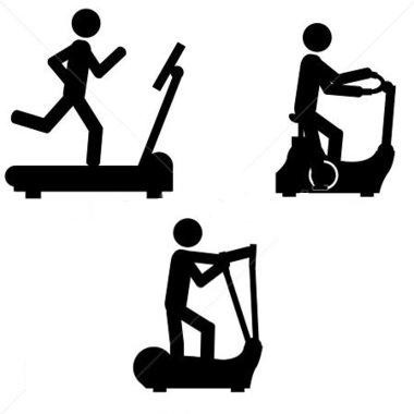 Fitness At Home Provides Top Rated Home -Fitness at home provides top rated home use fitness equipment like  treadmill, cross trainer, elliptical,fitness bikes along with dumbells, ab  trainer, ClipartLook.com -9