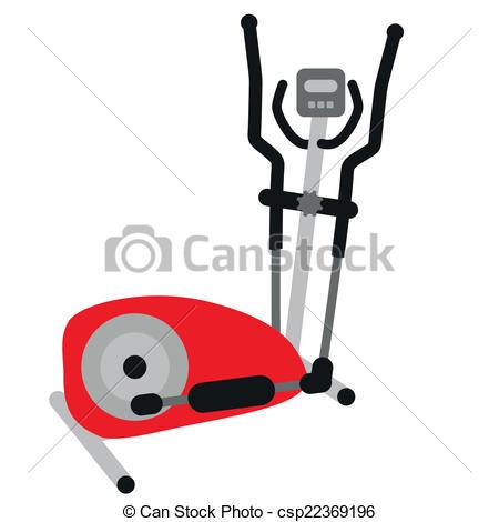 Red Elliptical Cross Trainer - Csp223691-red elliptical cross trainer - csp22369196-15